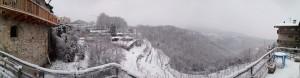 Panorama Inverno Loc Bosco